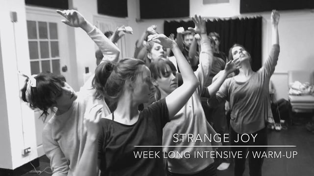 WaxFactory's week long development of Strange Joy: WaxFactory and Hand2Mouth Network of Ensemble Th…