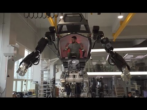 """METHOD-1"" manned robot project by ""Korea Future Technology""  (주)한국미래기술 & Vitaly Bulgarov - 4"