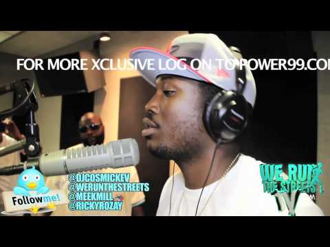 @MEEKMILL & RICKYROZAY  ON COSMIC KEV COME UP SHOW
