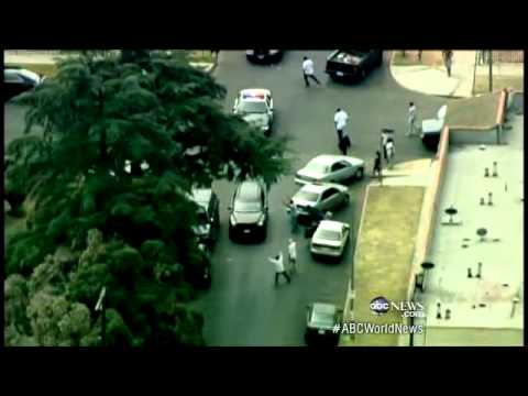 Bank Robbers Toss Money in High-Speed Car Chase: Caught on Tape