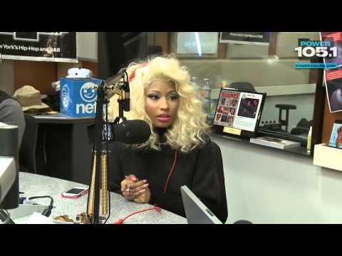 @NickiMinaj at The Breakfast Club ( Talks About The Turkey Drive,American Idol,Goes In On Djs & More