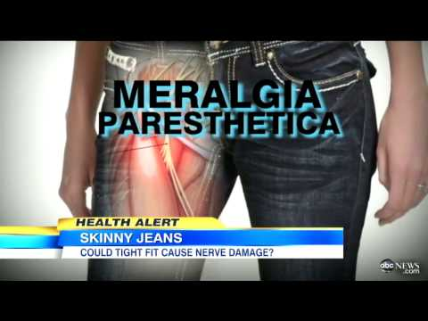 #ATTENTION : Wearing Skinny Jeans Can Cause Nerve Damage, Abdominal Pain, Heartburn & Blood Clot!