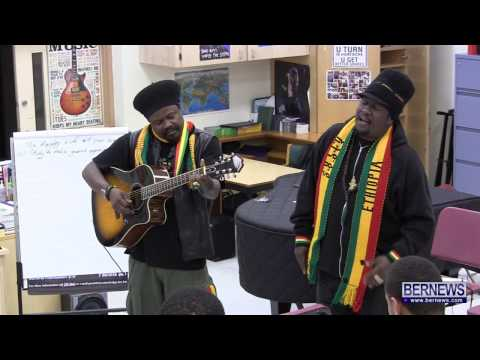 Luciano & Mikey General Perform At CedarBridge Academy In Bermuda