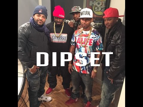 DIPSET REUNITES & FREESTYLES ON FLEX 2015!