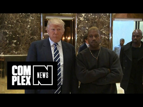 Trolling Again :Kanye West is Done With Donald Trump