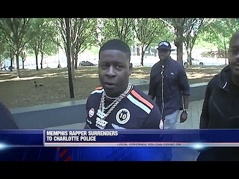 Blac Youngsta Talks To Reporters While Turning Himself In For Young Dolph Shooting In Charlotte (Says Somebody Snitchin)