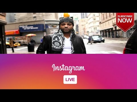 Get Fit With  Rapper Jim Jones Via  Instagram Live Stream