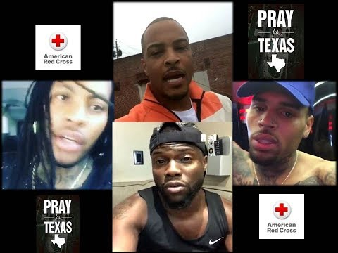 T.I, Waka Flocka & Chris Brown Are  Donating To  Kevin Heart's H.H. Challenge