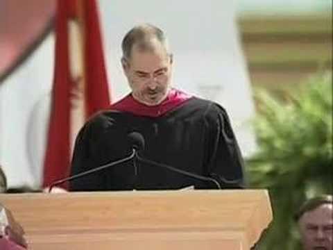 Ομιλία του Steve Jobs στην τελετή αποφοίτησης του 2005 στο Πανεπιστήμιο του Stanford