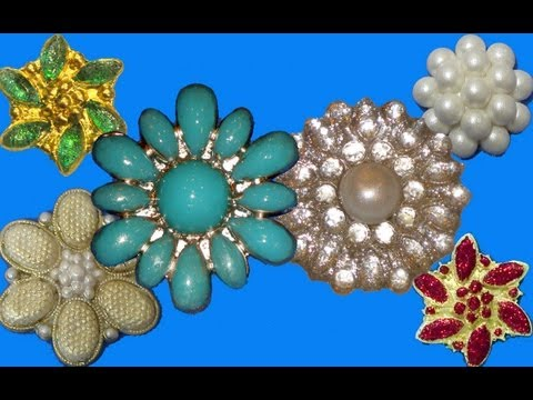 How to Make Fondant Brooches & Isomalt Brooches