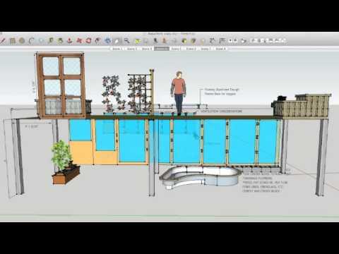 aquaponics solarium deck