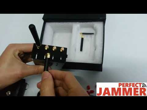 4 Bands High Power Cell Phone Portable Jammers