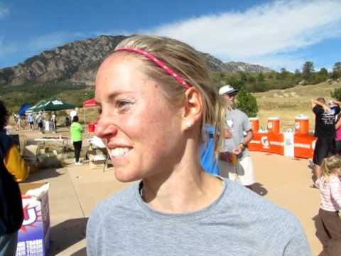 Nicole Mahobian defends her title in the Xterra Half Marathon