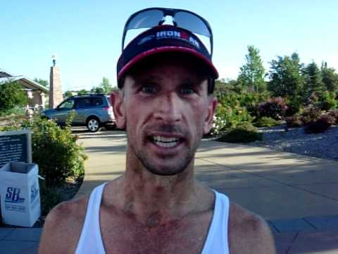Neal Oseland of Colorado Springs won the American Discovery Trail Half Marathon on Monday