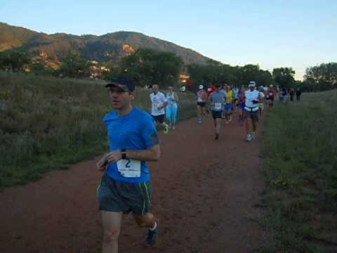 Start of the 2013 American Discovery Trail Marathon