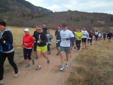 Start of the XTERRA trail races, April 6 at Cheyenne Mountain State Park