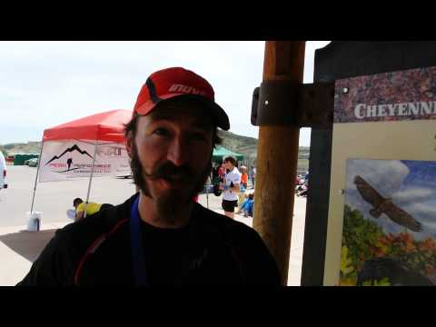 Peter Maksimow beats his 25K race record at Cheyenne Mountain Trail Race