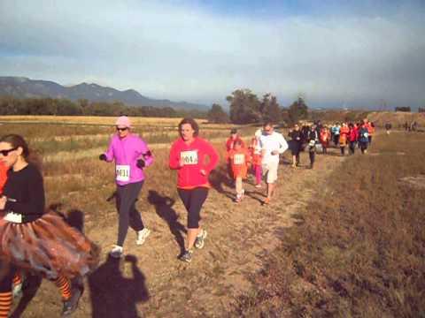 5K on the farm: Start of the 2013 Great Pumpkin Run