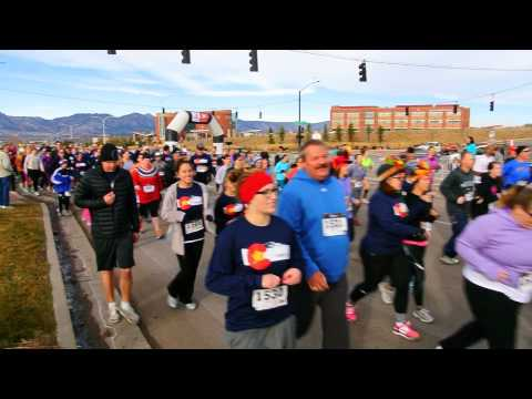 Start of the 2014 YMCA Turkey Trot
