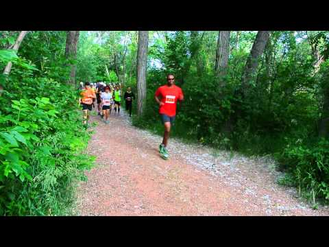 Start of the 2015 Summer Roundup Trail Run