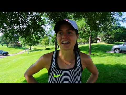Megan Roche wins the USATF 30K Trail Championships