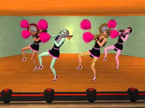 Fearleading Practice {The Sims 2 Smushle}