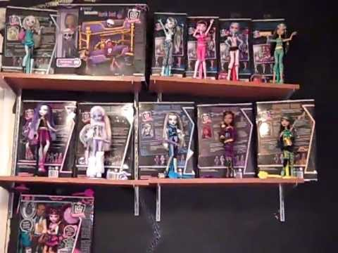Full monster high doll collection!!!! :D