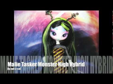 Malie Tasker Monster High Novi Star Hybrid!