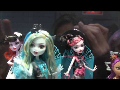 MONSTER HIGH NYCC 2014 REVEALS VIDEO FRIGHTS CAMERA ACTION ART CLASS NEW SCAREMASTER GHOUL SPIRIT