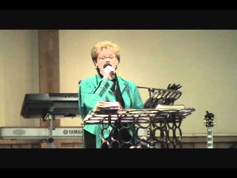"Jan Harbuck sings ""Calvary"""