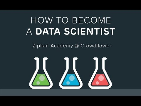 How To Become A Data Scientist and Things I Learned in my First Year as a Data Scientist -- SF Data Science