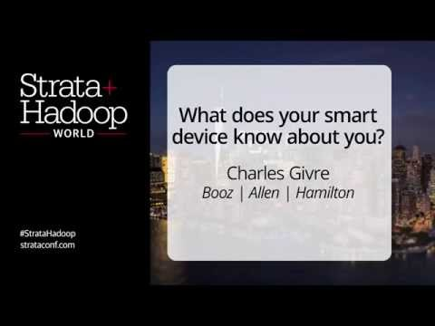 Strata NYC 2015:  What Does Your Smart Device Know About You? by Charles Givre
