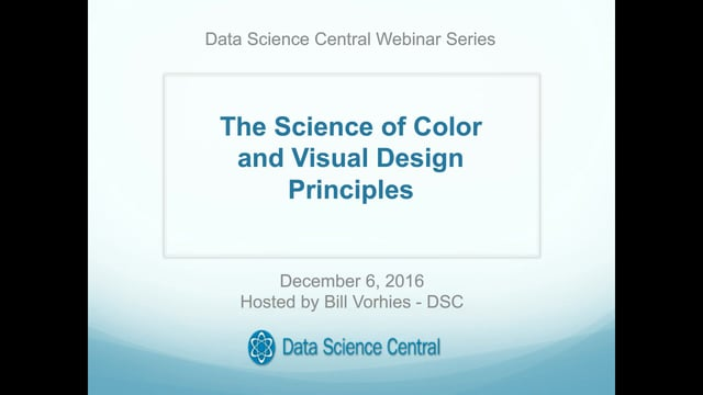 The Science of Color and Visual Design Principles