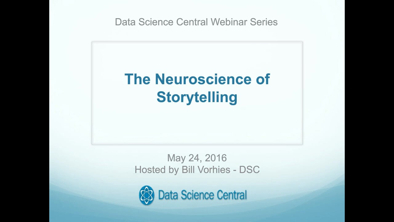 Shaping Data Stories with Neuroscience