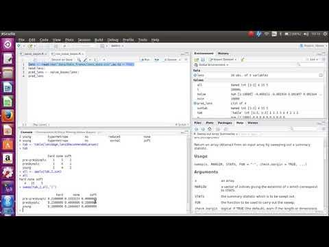 Naive Bayes R Programming