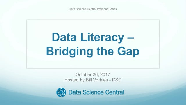 Data Literacy – Bridging the Gap