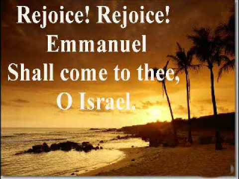 Oh Come Oh Come Emmanuel (with lyrics)