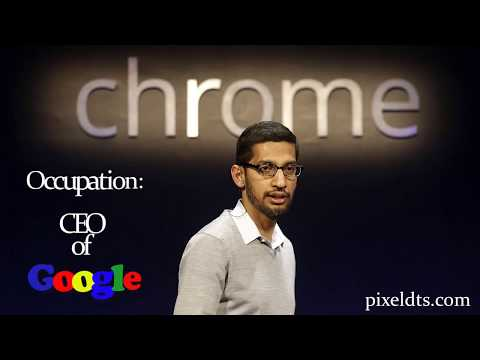 Google's CEO  Sundar Pichai Biography  Story of success