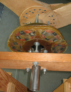 4-ft Axial Flux Windmill - Rear View