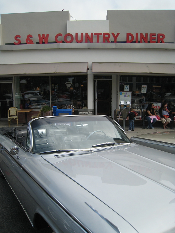 Culver City Car Show at S&W Country Diner