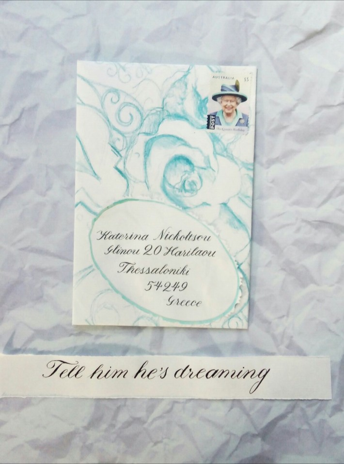 Outgoing mail and Australian Idiom in Copperplate