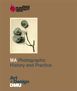 MA Photographic History and Practice