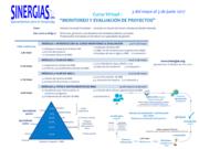 Curso Virtual Monitoreo y Evaluación de Proyectos del 3 de mayo al 4 de junio