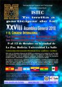 Asamblea General del ISTEC 2018