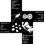 GENERATOR WORKSHOP, GRASSHOPPER BASE & AVANZATO, ROMA