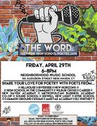 THE WORD: 4th Annual Citywide Youth Poetry Jams!