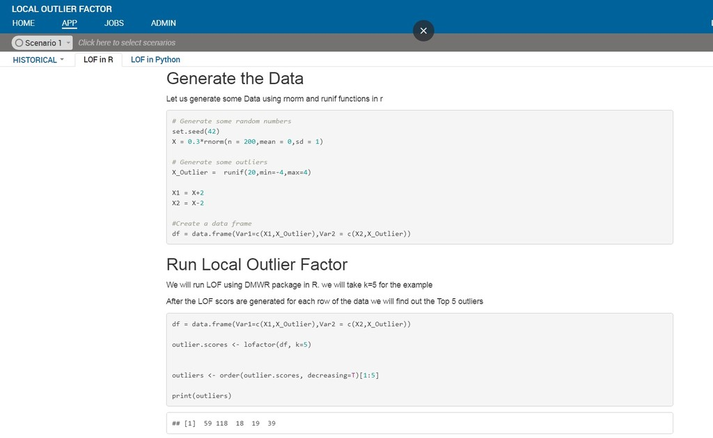Anomaly/Outlier Detection using Local Outlier Factors - Data Science