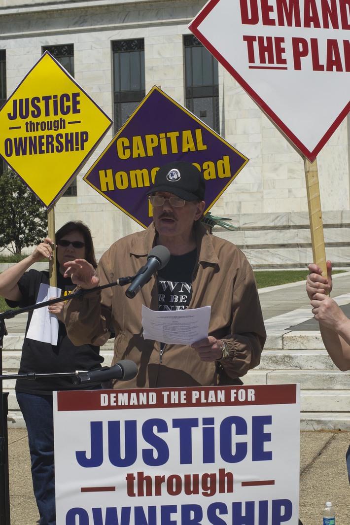 Joe Recinos speaks before the FED, April 20, 2012