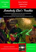 Somebody Else's Troubles acoustic at Bohem Tap Room: NB FOURTH Tuesday this July