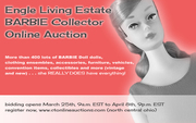 Lifetime Barbie Collector Online Auction, First in Series